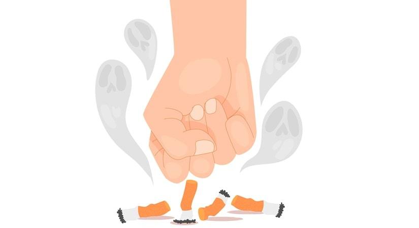 انگیزه برای ترک سیگار